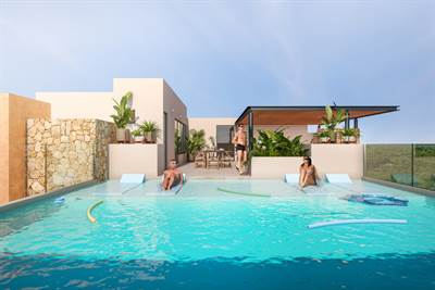 Magnificent and Spacious Studio Located in the Majestic Area of Tulum at Region 11 DED812