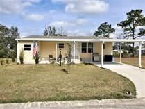 Homes for Sale in Walden Woods South, Homosassa, Florida $110,000