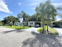 Homes for Sale in Sunnyside Mobile Home Park, Zephyrhills, Florida $24,900