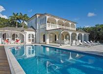 Homes for Sale in Royal Westmoreland, Holetown, St. James $6,000,000