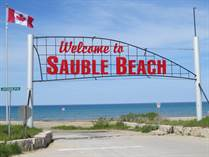 Homes for Sale in Sauble Beach North, Sauble Beach, Ontario $132,000