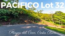 Lots and Land for Sale in Playas Del Coco, Guanacaste $137,500