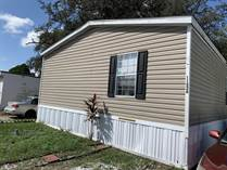 Homes for Sale in Lamplighter On The River, Tampa, Florida $65,900