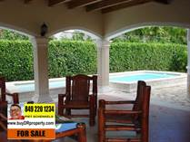 Homes for Sale in La Mulata, Sosua, Puerto Plata $185,000