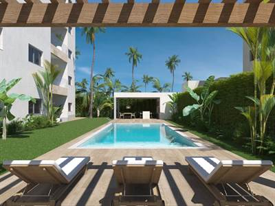 Punta Cana Condos For Sale | 2 BDR | 2 Minutes Walk to the Beach, Los Corales, Bavaro