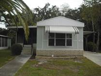 Homes for Sale in Oak Bend Park, Hudson, Florida $12,900