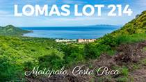 Lots and Land for Sale in Matapalo North Pacific, Guanacaste $109,000
