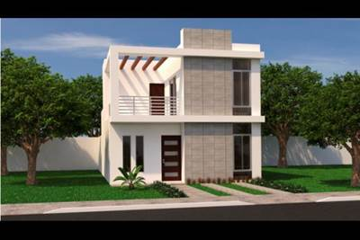2 STORY HOUSE IN NEW DEVELOPMENT IN CANCUN, Suite GRNSNTFPLSNZ185, Cancun, Quintana Roo