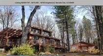 Homes for Sale in Lake Vera/Purdon, Nevada City, California $675,000