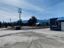 Commercial Real Estate for Sale in Rural Invermere, British Columbia $550,000