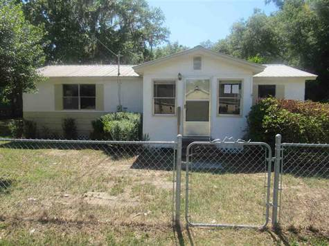 Home for Sale in Perry, Florida $62,400