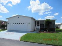 Homes for Sale in Southport Springs, Zephyrhills, Florida $138,000