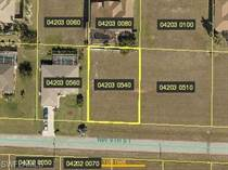 Lots and Land for Sale in Cape Coral, Florida $18,900