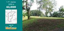 Lots and Land for Sale in Puriscal, San José $62,500