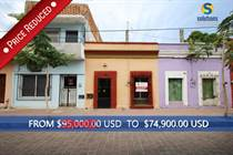 Homes for Sale in Centro, Mazatlan, Sinaloa $74,900