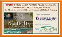 Condos for Sale in Subangdaku, Mandaue, Cebu ₱2,354,123