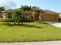 Homes for Sale in Cape Coral, Florida $329,000