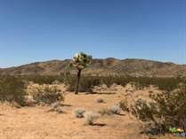 Lots and Land for Sale in Landers, California $65,000