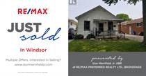 Homes Sold in Eastside, Windsor, Ontario $159,900