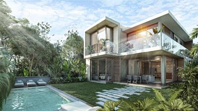 Magnificent and Modern 5 Br. Townhouse w/ Private Pool in Aldea Zama, Tulum, QR, MX
