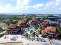 Condos for Sale in Coco Beach Resort, Ambergris Caye, Belize $588,000