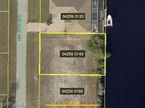 Lots and Land for Sale in Cape Coral, Florida $85,000