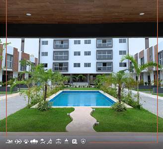 BEAUTIFUL APARTMENTS FOR SALE IN CANCÚN, NEW DEVELOPMENT