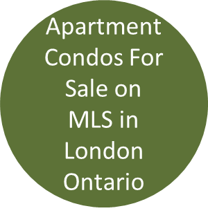 Apartment condos for sale on MLS in London Ontario