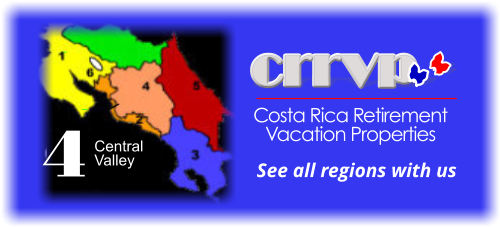 costa rica homnes for sale - central valley region