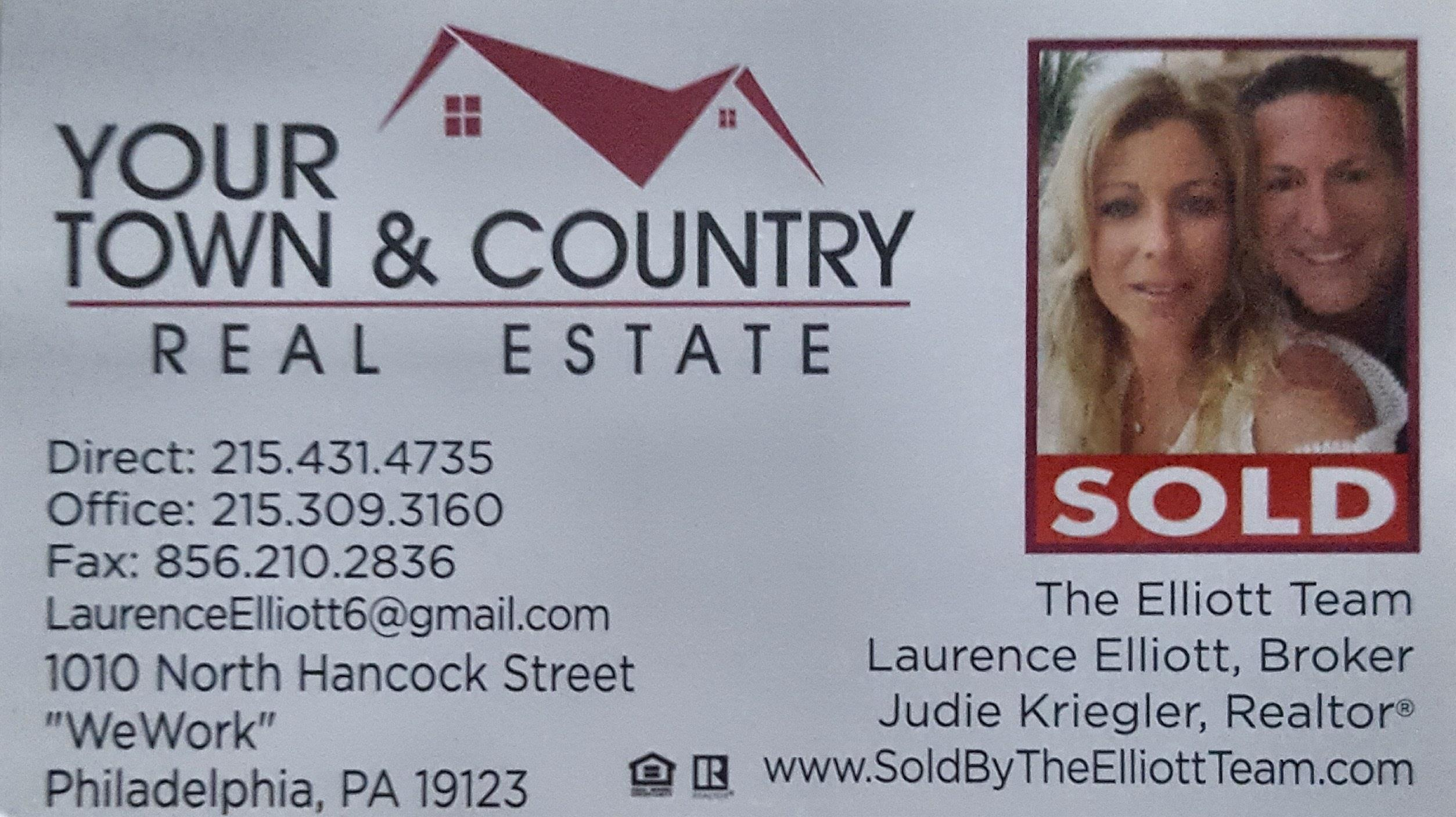 The Elliott Team Real Estate in Philadelphia, Bucks & Montgomery County. Bakers Bay Condos is our sepciality!