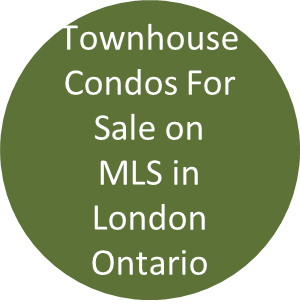 Townhouse Condos For Sale on MLS London Ontario