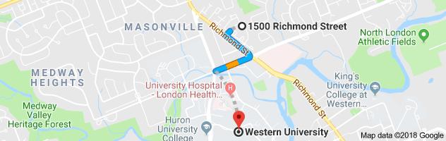 1500 Richmond St Google Map