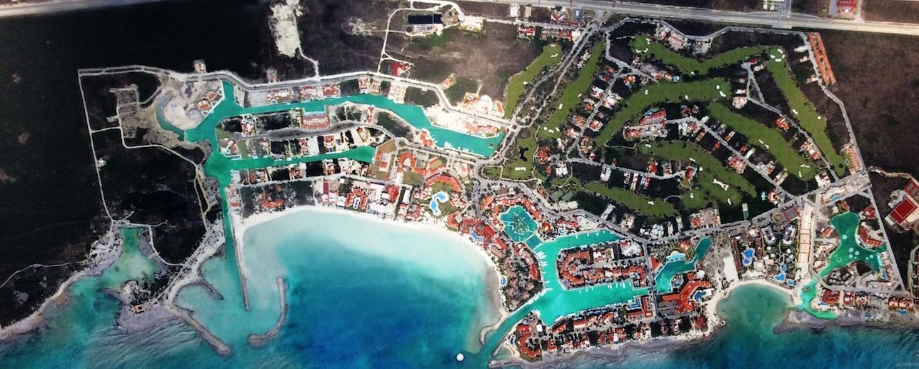 Puerto Aventuras master plan