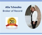 Alla Tchouiko,  Broker of Record / Owner