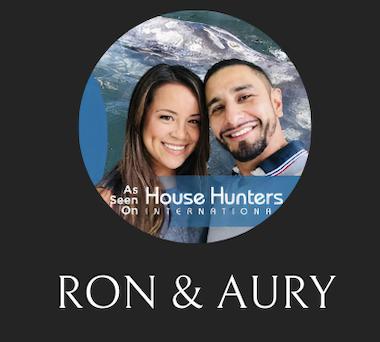 Ron & Aury  .