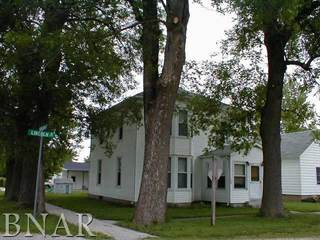Single Family for sale in 104 West Lincoln, Cooksville, IL, 61730