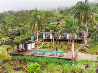 Residential Property for sale in Iconic Escaleras Property with 3 Ocean View Villas, Pool, and Usable Land, Escaleras, Puntarenas