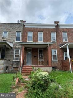 Residential for sale in 1508 APPLETON ST, Baltimore City, MD, 21217