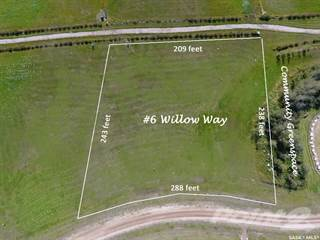 Land for sale in 6 Willow WAY, RM of Humboldt No 370, Saskatchewan