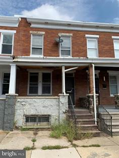 Residential Property for sale in 2804 ASHLAND AVE, Baltimore City, MD, 21205