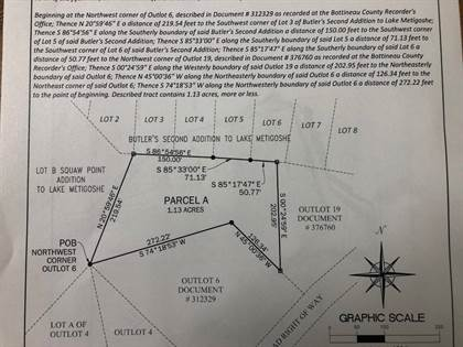 Lots And Land for sale in Parcel A Squaw Point Lake Metigoshe, Bottineau, ND, 58318