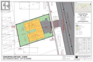 Land for sale in 426 VETERANS Drive, Barrie, Ontario