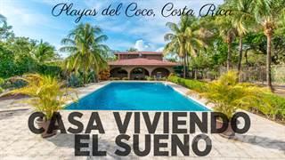 Residential Property for sale in Casa Viviendo el Sueno, Playas Del Coco, Guanacaste