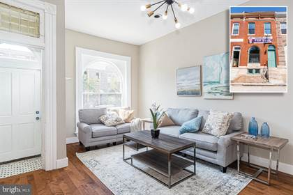 Residential Property for sale in 813 N PATTERSON PARK AVENUE, Baltimore City, MD, 21205