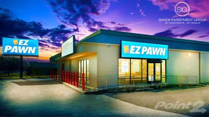 Commercial for sale in EZPAWN For Sale Triple Net (NNN) Lease Investment 914 Federal Road, Houston, TX Cap Rate 6%, Houston, TX, 77015