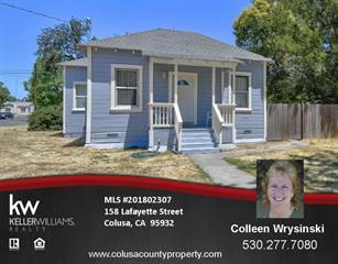 Single Family for sale in 158 Lafayette Street, Colusa, CA, 95932