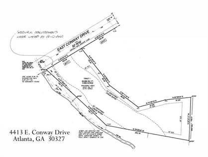 Lots And Land for sale in 4413 E Conway Drive NW, Atlanta, GA, 30327