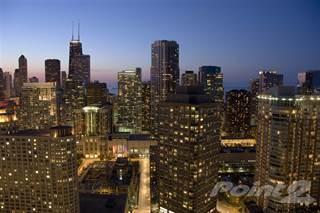 Apartment en renta en Coast at Lakeshore East - Studio City View: C, Chicago, IL, 60601