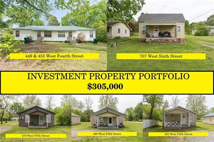 Multifamily for sale in 453  W Fourth  ST, Booneville, AR, 72927