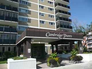 Apartment for rent in 709 Cambridge Towers - 1 Bedroom Condo, Winnipeg, Manitoba
